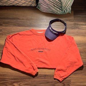 VTG Bum Equipment Cropped Sweater